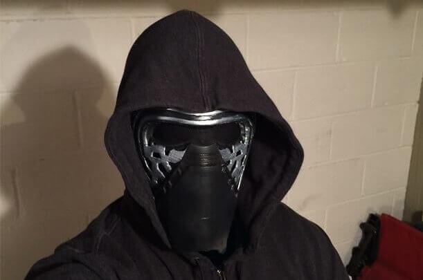 Image of 3D Printed Mask: Kylo Ren