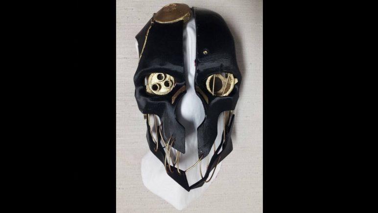 Image of 3D Printed Mask: Corvo