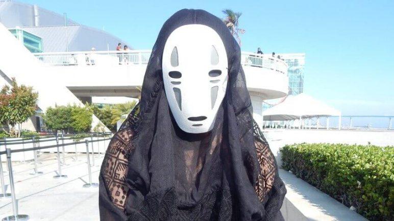 Image of 3D Printed Mask: Kaonashi (No-Face)