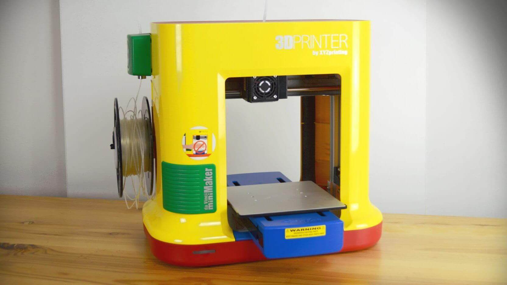 XYZprinting da Vinci miniMaker Review: Just A Toy | All3DP