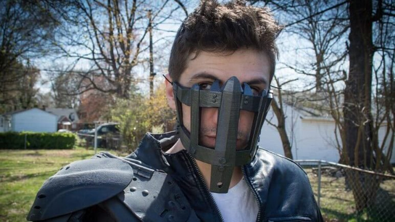 Image of 3D Printed Mask: Max