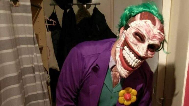 Image of 3D Printed Mask: The Joker
