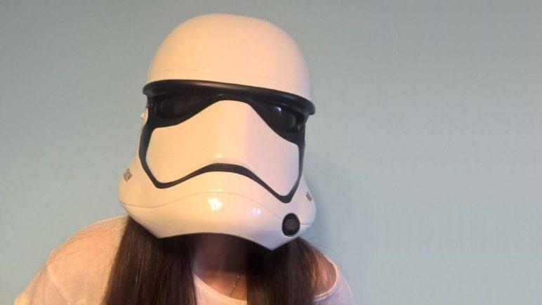 Image of 3D Printed Mask: Stormtrooper Helmet