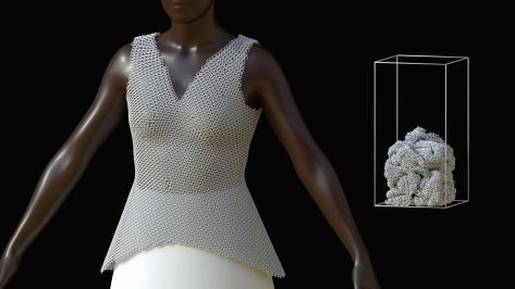 Featured image of Link Bodice Dress Made by Nervous System on Formlabs Fuse 1