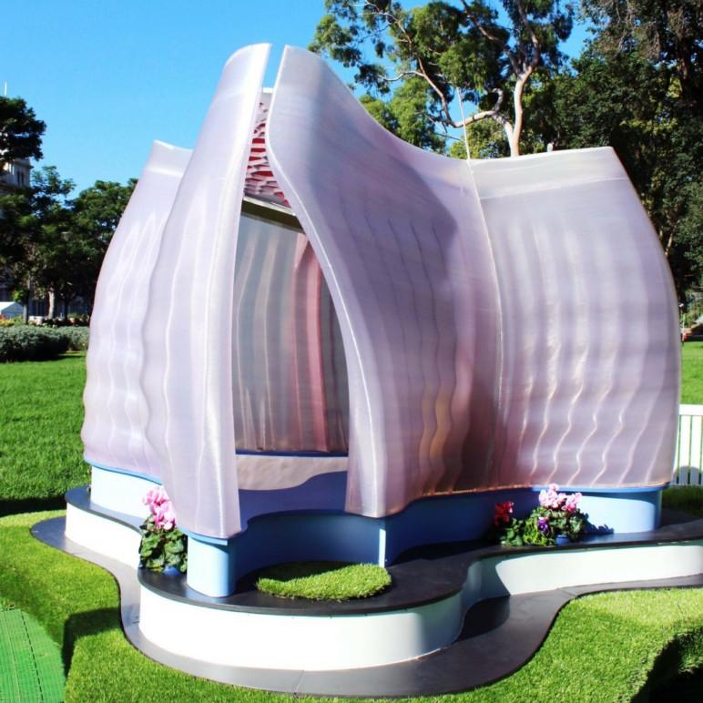 Image de Bâtiment / Structure / Maison imprimée en 3D: Kooky Cubby