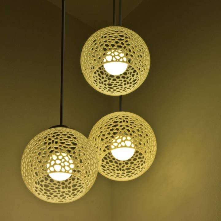 Image of 3D Printing Ideas – 40 Easy Home Decor Things to 3D Print: Coral Lamp