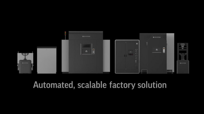 Image of Best Industrial 3D Printer of 2018 – The 21 Most Advanced: 3D Systems DMP Factory 500