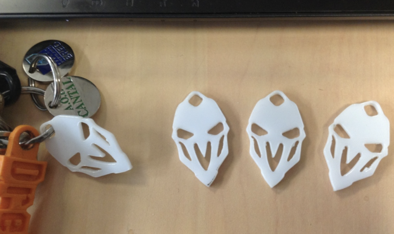 Image of Overwatch 3D Models: Reaper Keyring