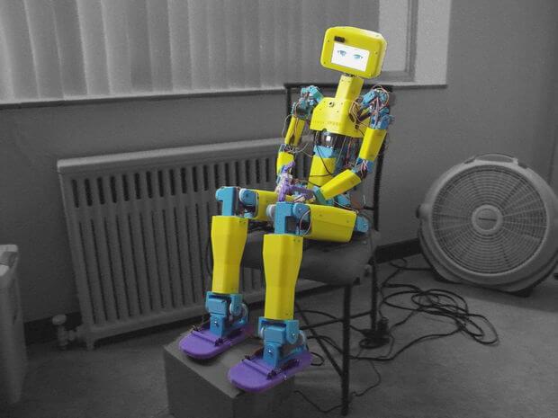 Image of 3D Printed Robot: ASPIR