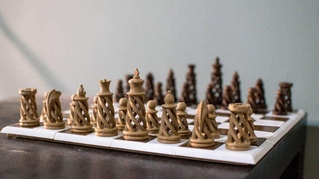 3d Printed Chess Set 27 Unique Sets And Pieces To Mix Match All3dp