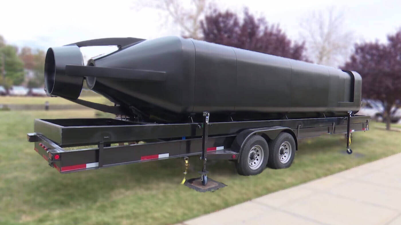 US Navy 3D Prints First Submersible Hull in Just Four Weeks | All3DP
