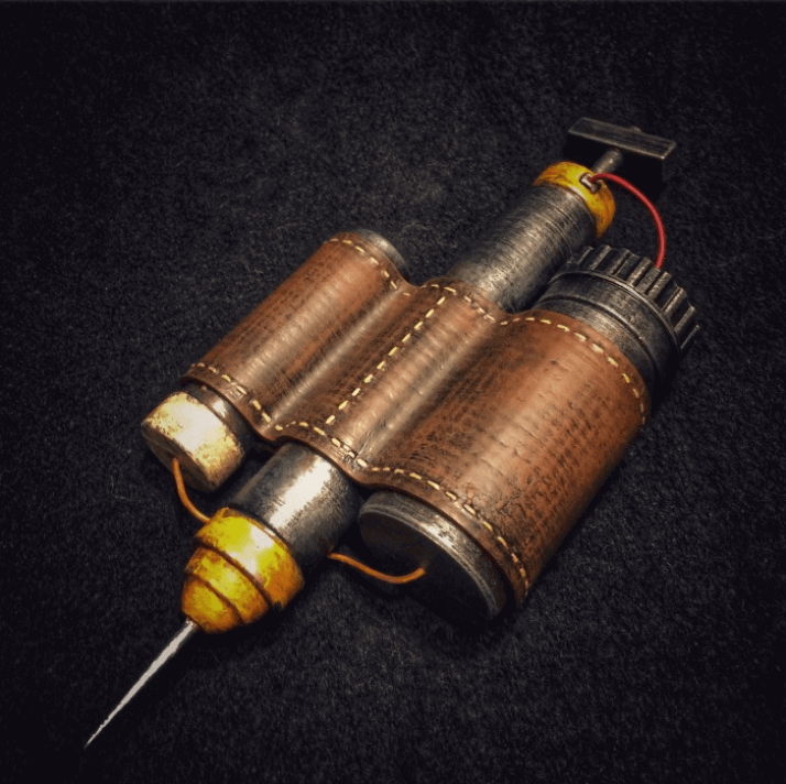 image of fallout props toys to 3d print psycho