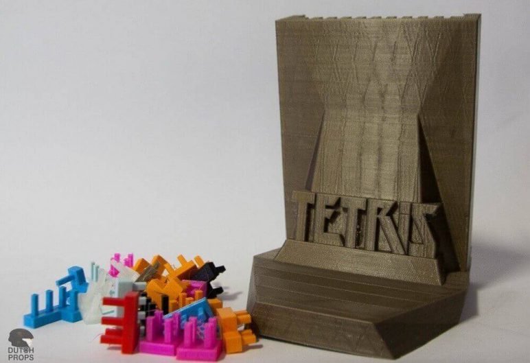 Image of DIY Board Games You Can Make with a 3D Printer: Tetris