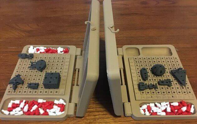 Image of DIY Board Games You Can Make with a 3D Printer: Battle Fleet Star Wars vs. Star Trek Battleship