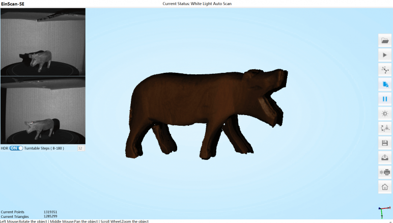 Image of EinScan-SE 3D Scanner Review: Software