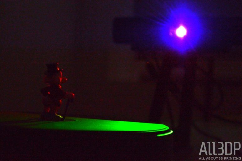 Image of EinScan-SE 3D Scanner Review: Functionality
