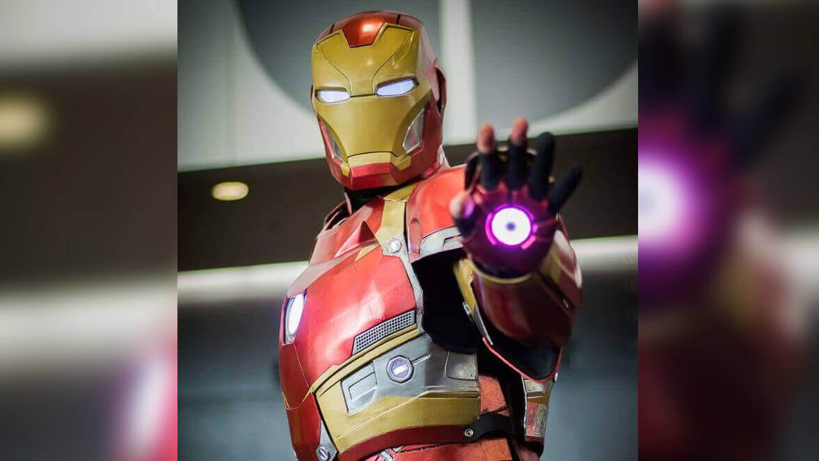 Patient Redditor 3D Prints Iron Man Costume on an Up Mini | All3DP