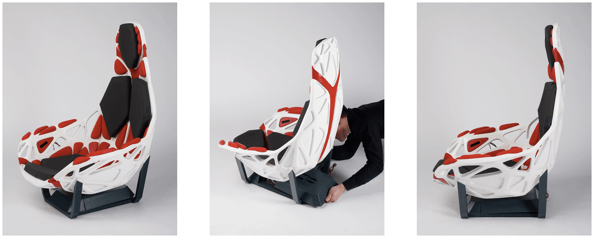 Concept Breathe Is A Radical Car Seat Made With 3d Printing All3dp