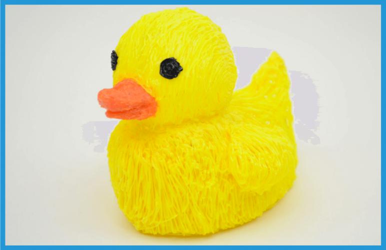 Image of 3D Pen Templates / 3D Pen Stencils: Flexy Duck