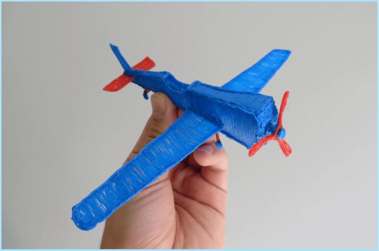 Image of 3D Pen Templates / 3D Pen Stencils: Airplane