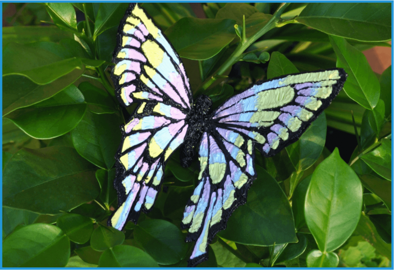 Image Of 3D Pen Templates Stencils Butterfly