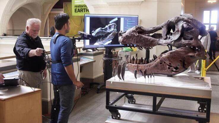 MIT Researchers Use Microsoft Kinect to 3D Scan Gigantic T-Rex Skull | All3DP