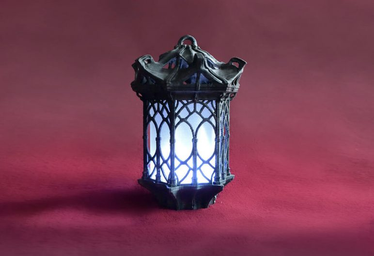 Image of 3D Printing Ideas – 40 Easy Home Decor Things to 3D Print: Gothic Lantern