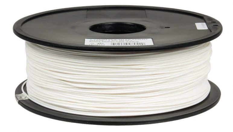 Image of Best Selling 3D Printer Filament on Amazon: Inland PLA White