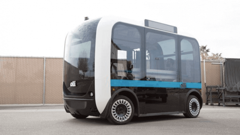 Featured image of Local Motors Create Autonomous Bus with Help From MakerBot