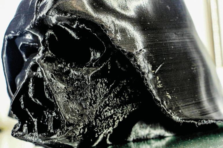 Image of Star Wars 3D Models to 3D Print: Darth Vader Melted Mask