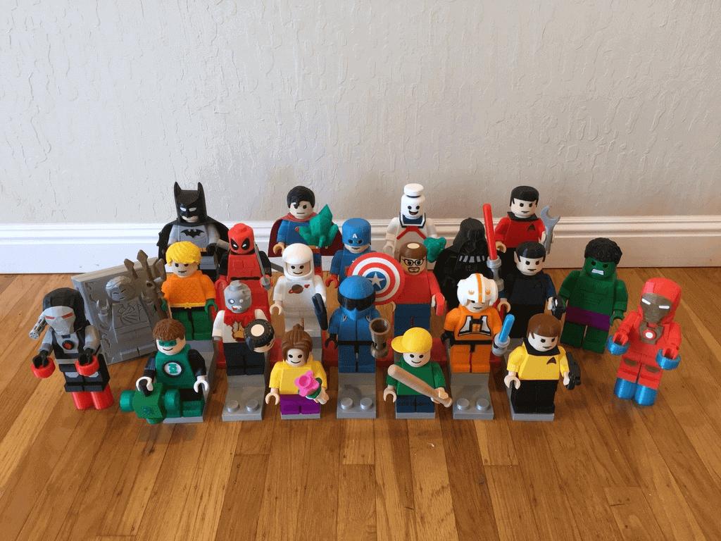 3d printer lego ile ilgili görsel sonucu