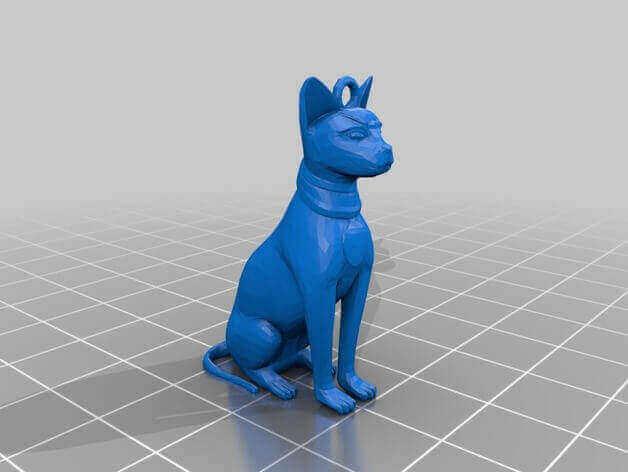Image of 3D Printed Jewlery: Cat Earrings