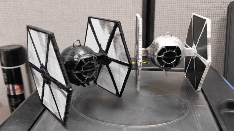 Image of Star Wars 3D Models to 3D Print: TIE Fighter