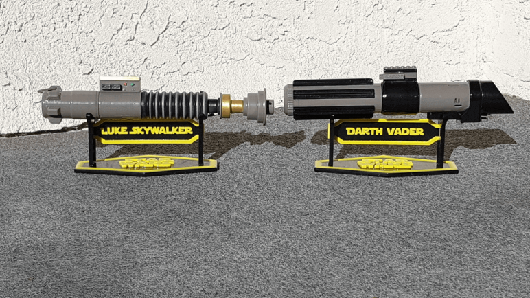 Image of Star Wars 3D Models to 3D Print: Lightsaber Stand