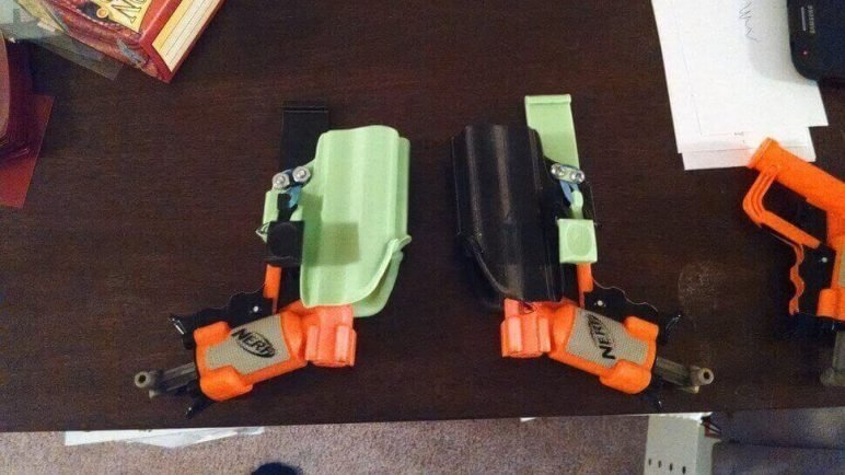 Image of 3D Printed Nerf Gun Parts, Mods & Attachments: Jolt Holster