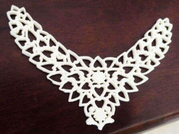 Image of 3D Printed Jewlery: Heart Design