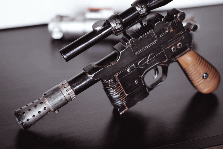 Image of Star Wars 3D Models to 3D Print: Han Solo Blaster