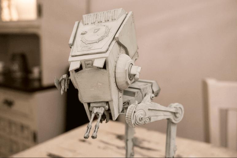 Image of Star Wars 3D Models to 3D Print: AT-ST Scout Walker