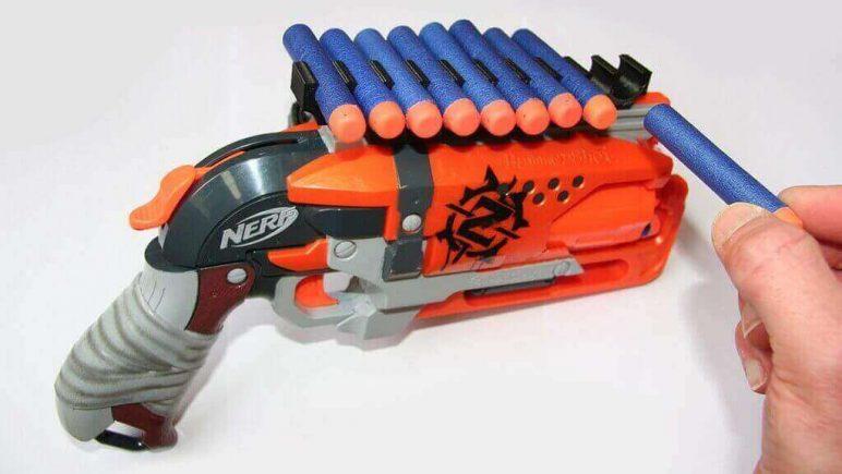 20 Best 3D Printed Nerf Gun Parts, Mods & Attachments | All3DP Nerf Gun Schematics Diagram on