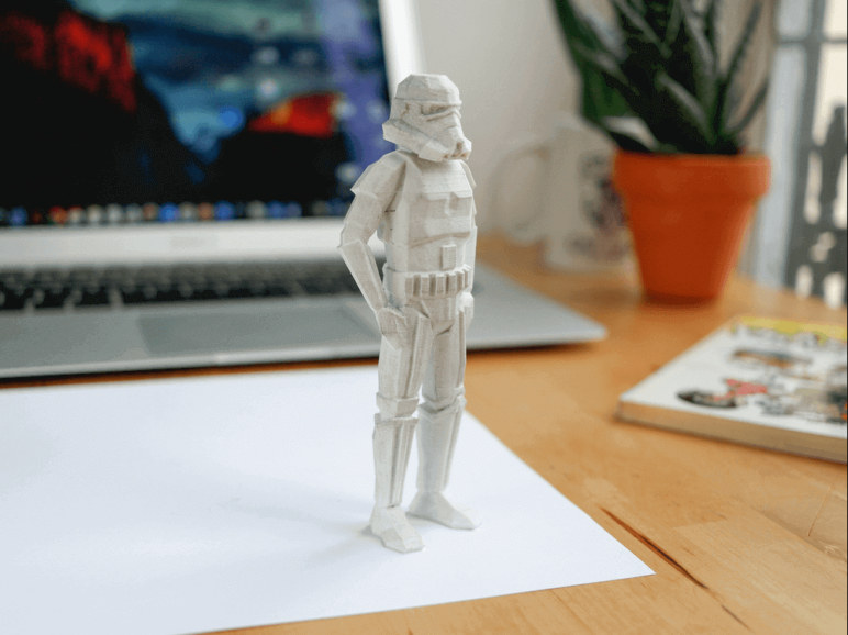 Image of Star Wars 3D Models to 3D Print: Low-Poly Space Toys