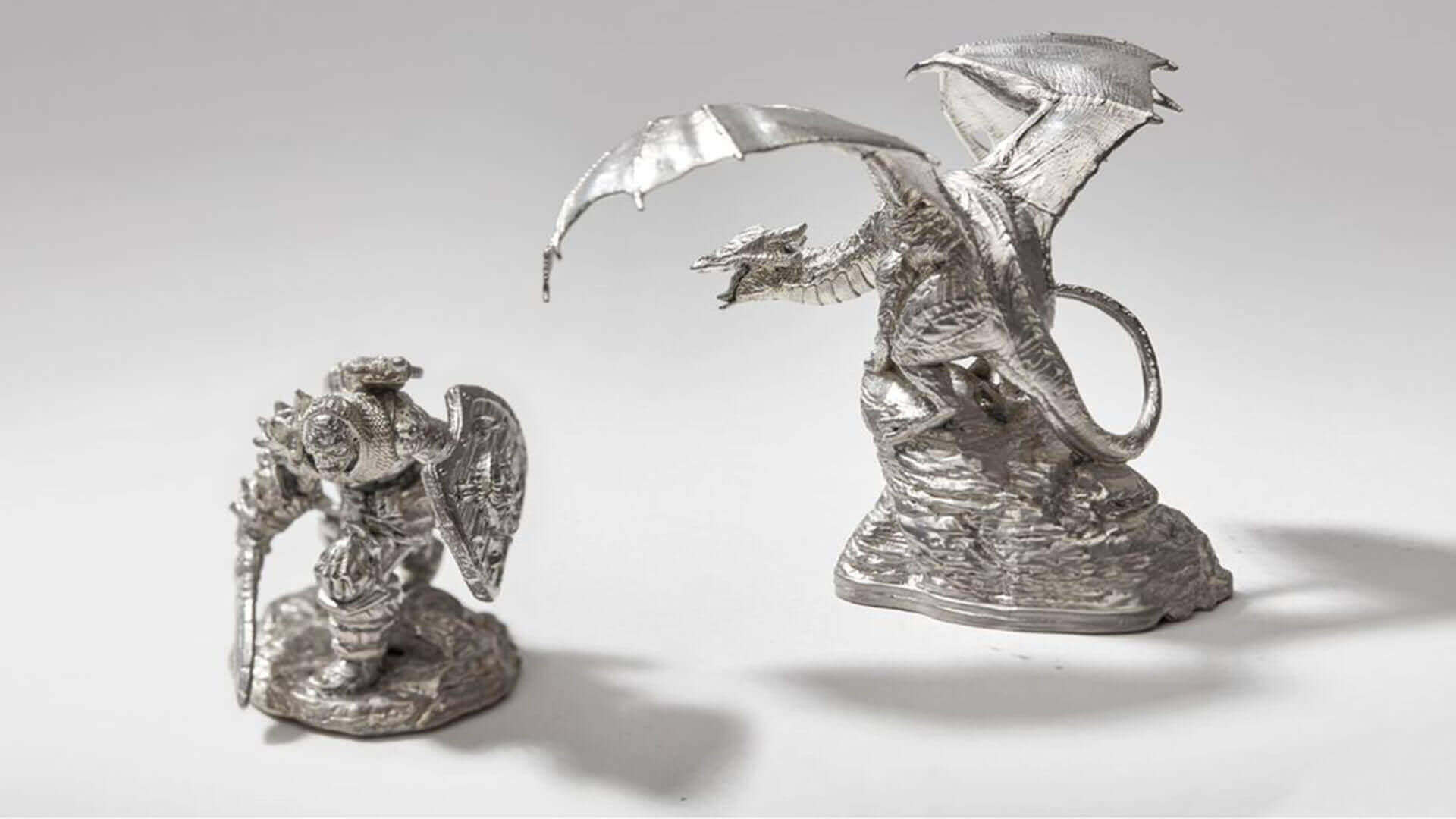 Formlabs Shares Secret to Making Metal Miniatures With 3D Printing | All3DP