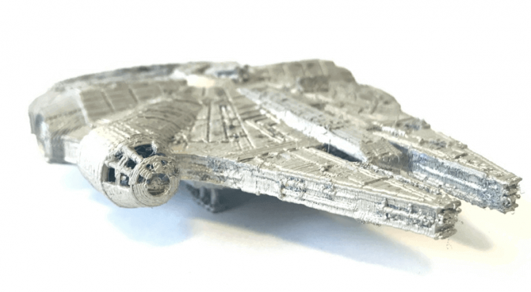 Image of Star Wars 3D Models to 3D Print: Millenium Falcon for Cufflinks
