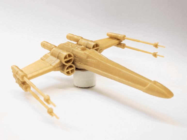 image of star wars 3d models to 3d print 3d printed x wing starfighter