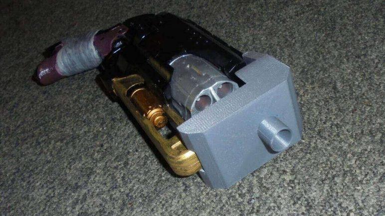 Image of 3D Printed Nerf Gun Parts, Mods & Attachments: Hammershot Barrel Attachment