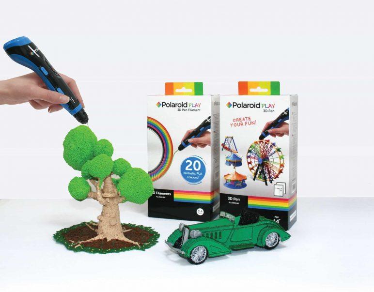 Image of Mejores lápices 3D para aficionados: Lápiz 3D Play de Polaroid