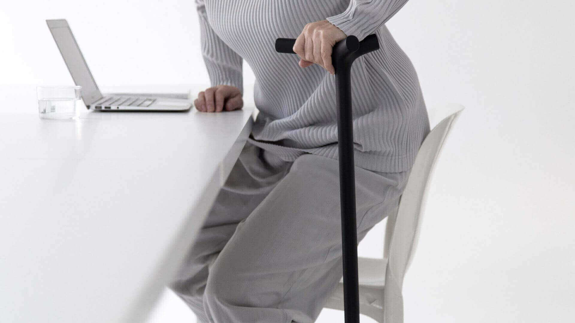 Shiro Studio 3D Prints Stylish and Practical ENEA Walking Stick | All3DP