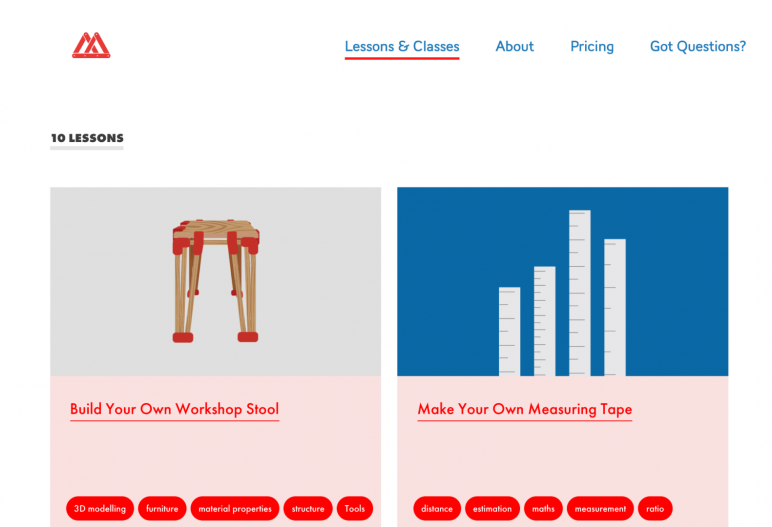 Image of Resources for 3D Printing Classes and Curriculum: Makerversity DIY