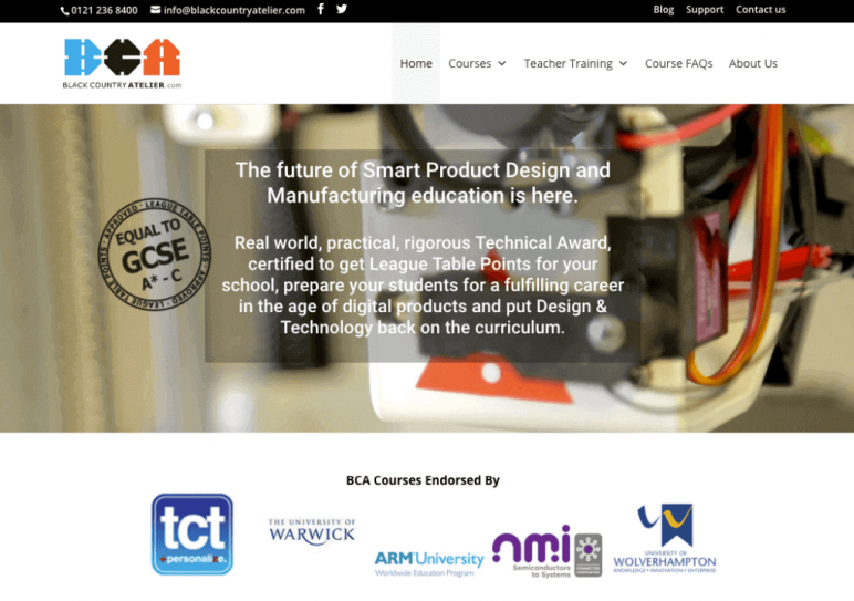 Image of Resources for 3D Printing Classes and Curriculum: Black Country Atelier