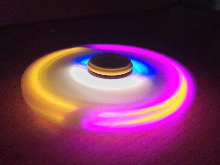 Image of Best Fidget Spinner Toys to Buy or DIY: LED Hand Spinner