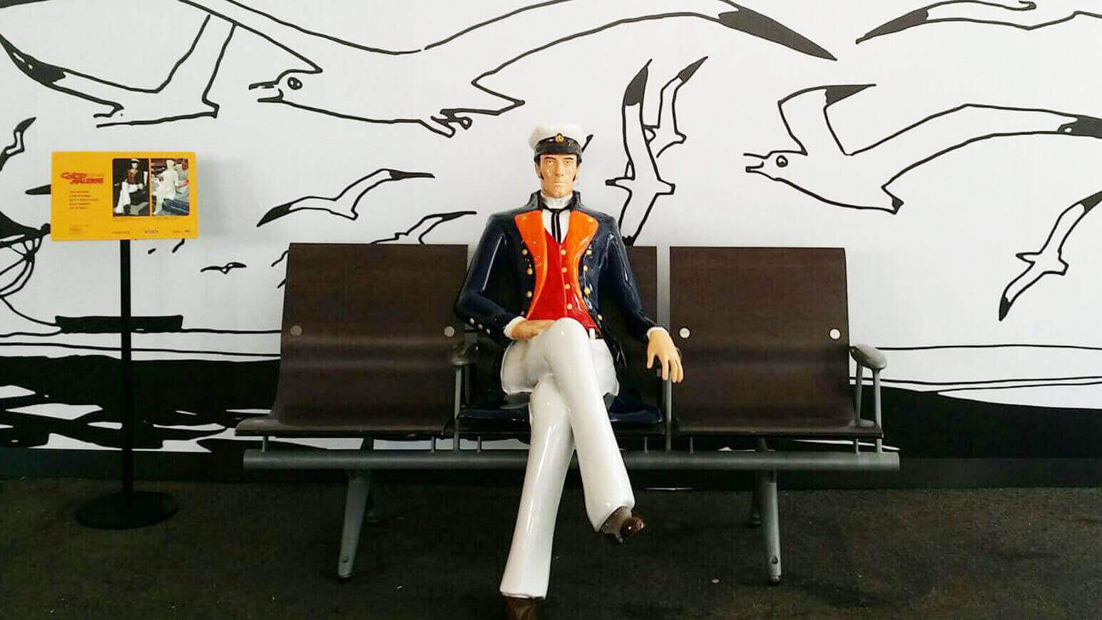 Find a Life-Size 3D Printed Corto Maltese in Paris Train Station   All3DP